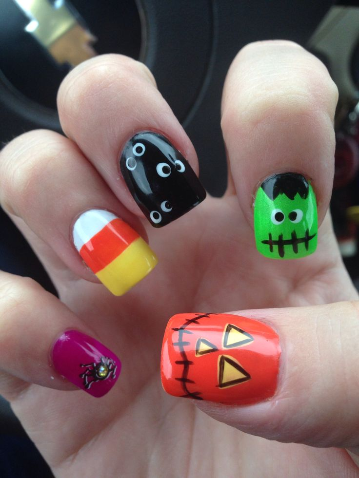 10 Nail Art Ideas For Halloween