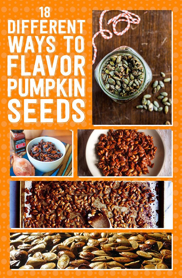 18 Ways To Make Pumpkin Seeds Delicious fall