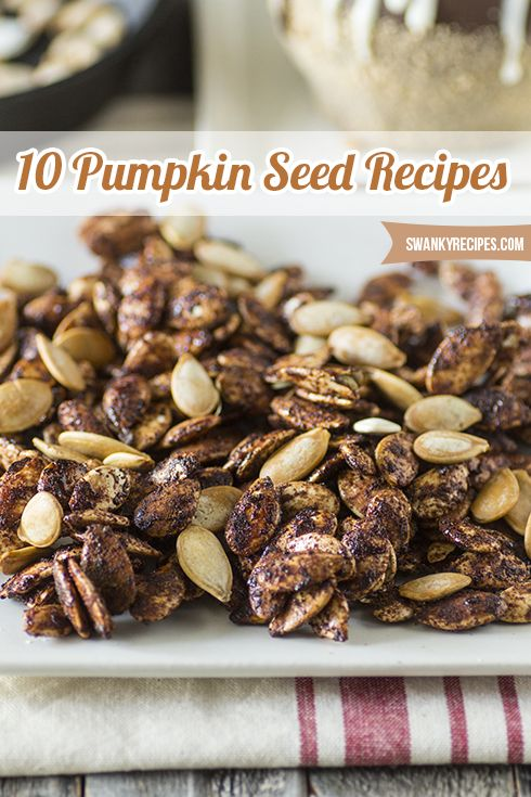 10 Pumpkin Seed Recipes For Halloween