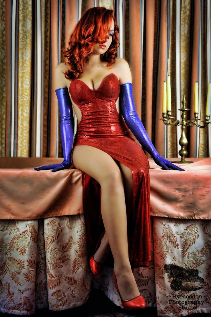 "Jessica Rabbit - though this goes against my personal ban on ""sexy"" halloween costumes"