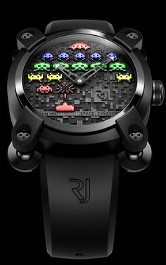 Something geeky but cool - the stylish Space Invaders watch #spaceinvaders #retro