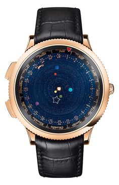 SIHH 2014: Van Cleef this watch keeps track of planets moving around the sun. it's beautiful. anyone want to loan me $245k?