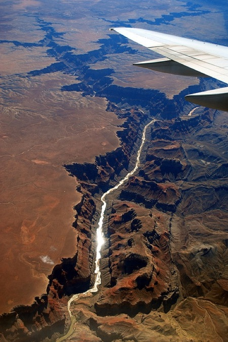 The Grand Canyon, view from above!
